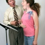 good singing posture