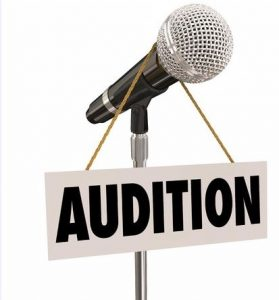 Singing Auditions